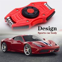 Wholesale Super Mini Pc - Magic Super Car New Fashion Hand Spinners EDC Toys Sports Car Fidget Spinner For Decompression Anxiety Toy Adults Focus Anti Stress PC+Metal