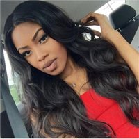 Wholesale Malaysian Lace Wigs 26 Inches - Brazilian Lace Front Wig Human Hair Body Wave Human Hair Full Lace Wigs 10-26 Inches Human Hair Wigs