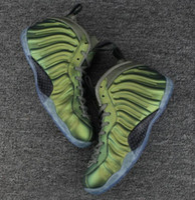 Wholesale Fabric Shine - High Quality Penny Hardaway Shine Green Basketball Shoes Men Hardaway Green Shine Running Sneakers With Box