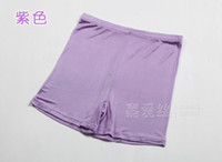 Wholesale Silk Knit Briefs - Wholesale-3pairs Womens Ladies 100% Silk Knitted Pantie Briefs, Hi-Cuts M L XL 2XL Solid