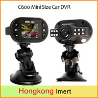 Barato Mini-dvd Player Para A Tv-carro dvd carro câmera C600 Mini Tamanho Car DVR Full HD 1920 * 1080P 12 IR LED Car Vehicle Cam Video Recorder DashCam russo