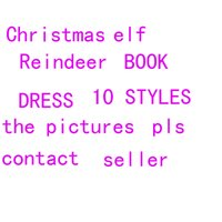 Wholesale Wholesaler Skating Dress - 50 piece Chirstmas Toys Gift Reindeer Roller skating Princess Dress Shoes For Kids Dolls Holiday And Christmas Gift Tradition Free Shipping