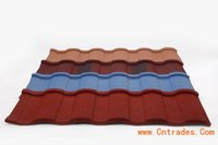 Wholesale Roofing Material Tile - construction material decorative roman type stone coated metal roof tile
