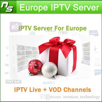 Wholesale Europe IPTV Server for UK Spain Portugal France Germany Italy with IPTV Server Support M3U Android Enigma2 Live VOD Channels