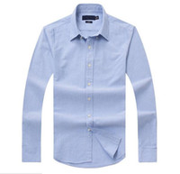 camisas de polo mangas ajustadas al por mayor-Nuevas ventas, costumbres famosas, camisas casuales, populares, bordados de golf, negocios, polos, camisas de manga larga para hombres