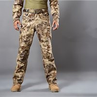 Wholesale Multicam Clothing - Multicam Airsoft Military Camouflage pants blind hunting clothing tactical cargo pants army combat pants camouflage fatigues