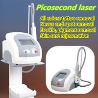 Wholesale Lens Laser 532nm - picosure focus lens array 755 nm head professional Senile plaques Nevus spots speckle removal picosure 755 laser tattoo removal 532nm yag