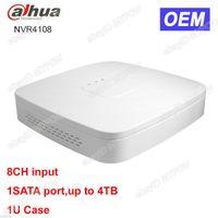 Wholesale Dahua Network Video Recorder - Dahua OEM DH-NVR4108 8CH Channel 1SATA Smart Mini 1U Network Video Recorder NVR