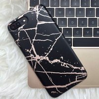 Wholesale Note Chrome Case - Retros Marble Cases for iPhone X 8 7plus Case Chrome Marble TPU Cover for iPhone 6 6s 7 Plus Samsung S8 Note 8