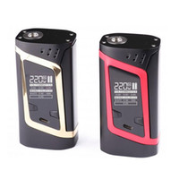 Wholesale Fit For Baby - Authentic SMOK Alien TC Box MOD 220W VW Temperature Control Vape Mod Fit for TFV8 Baby Best Tank VS Smok T-Priv