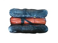 Wholesale 9mm Winch - Wholesale-9mm x 50meters synthetic winch rope with 2 meters black protective sleeve free shipping