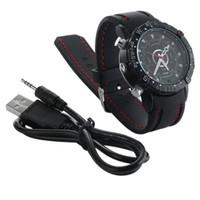 Wholesale 32gb watch cameras resale online - 32GB GB GB Mini Wristwatch Super Cam Woman Style Waterproof Watch Camera Portable Camcorder Mini Pocket DVs