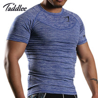 Mens Muskel Fit Shirts Kaufen -Großhandels-Männer Gym Fit T-Shirts Bodybuilding Fitness T Shirts GASP Baumwolle Herren Kurzarm T-Shirts Training Workout Tshirt Plus Größe Muskel