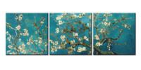 ingrosso riproduzioni d'arte-The Van Gogh Classic Arts Riproduzione Dipinti Modern Giclee Stretched E Framed Artwork Il quadro per la decorazione del soggiorno