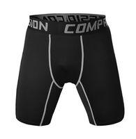 Wholesale Lycra Masculina - Wholesale-2016 Brand New Gym-Clothing Male Compression Tights Shorts running shorts Basketball Bermuda Masculina Men Short Pants
