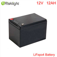 Wholesale Solar Wind Hybrid System - 12V 12AH LiFePo4 battery for Wind turbine Panel solar system  hybrid solar   wind energy  Electric Bicycle