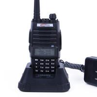 Wholesale Flashlight Memory - TONFA TF-Q5 Walkie Talkie Dual Band VHF+UHF 256 Memory Channel 10W FM Radio Flashlight VOX Scan 2 Way Radio TFQ5 Free Shipping
