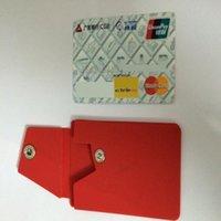 образец бизнеса оптовых-Образец держателя карточки бумажника способа 2016 умный, держатель кредитной карточки дела силикона Слипчивый,pal силикона карманный для галактики iphone 6s samsung