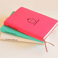 Wholesale Calendar Notebook - Wholesale- Molang Rabbit Planner Agenda Scheduler Cute Diary Any Year 2017 2018 Calendar Pocket Journal Kawaii Study Notebook Gift