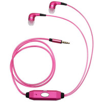 Wholesale Hot Grow - Hot Sale LED Earphone In Ear Glow In-ear Growing Earphones Auriculares Cuffie Audifonos for Mp3 MP4 Player computer 3 Colors