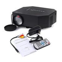 Wholesale Banking Education - Wholesale- UC30 home Cinema Theater beamer Portable Mini 1080P LED LCD Projector Support power bank HDMI VGA SD USB AV phones PC TV laptop