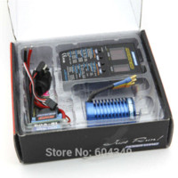 Wholesale Brushless Motor Combos - Hobbywing 3in1 Ezrun Combo 60A + 9T Brushless Motor RC Car Truck B6 truck tools