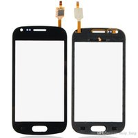Wholesale Galaxy S Duos S7562 Screen - for Samsung Galaxy S Duos GT-S7562 New Replacement touch screen Digitizer High quality Black B0245 P