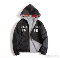 Wholesale Cool Men Sweaters - Mens Shark Hoodie Men Women Fashion Harajuku Cool Fun Reflective Light Sweater Jacket WGM Full Zipper Hoodie Fleece Cardigan Sweatshirts