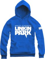Wholesale Winter Park - Free shipping hoodie pullover for Linkin Park sweater Unisex Sports shirt spring autumn winter Hoodies Sweatshirts fleece coat 9 color