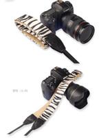 Wholesale Ll Camera - LYNCA Leopard Camera Shoulder Strap illustration Neck Strap for canon dslr camera 50d 60d 70d 1300d d5300 d3300 d90 LL series