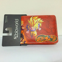 Wholesale Dc Cartoon Short Wallet Dragon Ball Thor Saw Inside Out Chucky Thundercats Purse Credit Oyster License Card Man Wallet