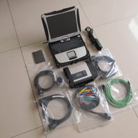 Wholesale laptop mb star diagnosis - 2018 DHL MB Star C4 Star Diagnosis with Laptop Toughbook CF-19 WIFI MB SD connect compact 4 V2018.07