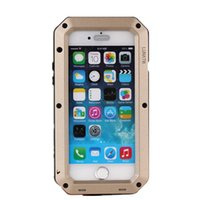 Wholesale Iphone Case Neutral - Phone case for iphone 5 5s 5c SE 6 6s plus Tanks Neutral Waterproof Case Apple-style Mobile Phone Metal Shell Drop Resistance Shell