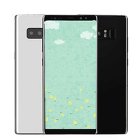 Wholesale Cheap Fake Cameras - 5.8inch Note8 1G 8G with fingerprint smartphone Quad Core MTK6580 Can Show Fake 4G 64G Dual Sim card Big Size Cheap phones