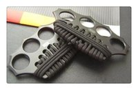 Wholesale wholesale fitness supplies - Fitness Supplies AZAN Knuckle Duster Cold steel TAIPAN hunting camping hiking gear survival knife knives Best Christmas gift