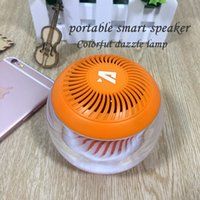 Wholesale Smallest Stereo Speakers - Bluetooth Wireless Stereo Speaker LED Mini Surround Speaker Smart Box Smallest Portable Outdoor Hands-free Bluetooth