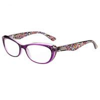 gafas de sol lejanas al por mayor-Moda caliente Retro Vintage Gafas de plástico Gafas de lectura Mujeres Hombres Diseñador de la marca Hyperopia Presbyopia envío gratis