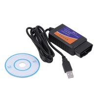 Wholesale Auto Can - ELM327 USB OBD2 Auto car Diagnostic Tool ELM 327 V1.5 V1.5A USB Interface OBDII CAN-BUS Scanner