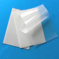 Wholesale A4 Laminator - A4 Paper Laminated Film 100pcs In A Lot Scratch Proof Plastic Laminating Films High Quality Professional Laminate Film