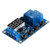 nuovo 6-30V Relay Module Interruttore Trigger Time Delay Circuit Timer Cycle Regolabile