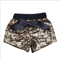Wholesale Chinese Clothes For Boys - Hot selling baby pants boys girls shorts kids trousers sequin short for children baby girls costumes clothes wholesale