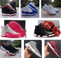 Wholesale leather shoes children for sale - New Arrival Kids Sport Shoes Basketball Shoes Boys Girls Athletic Shoes Children Sports Sneakers Toddlers Birthday Gift