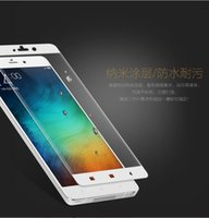 Wholesale retail box packaging cover for sale - Group buy For XIAOMI note Max Full cover front Tempered glass Screen Protector d Arc Anti finger print colors with retail package box