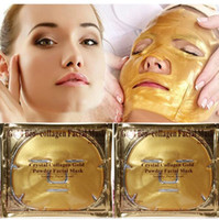 Wholesale Firming Facial Cream - Women Skin Care Facial Mask Gold Collagen Gold Crystal Collagen Powder Face Peels for Moisturizing Firming Oil-control