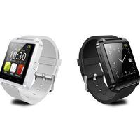 u8 smartwatch iphone großhandel-Intelligente Uhr U8 U Uhr Intelligente Uhren für iOS Apple Smartwatch iPhone Samsung Sony Huawei Android-Handys Gut