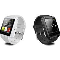 u8 smartwatch para iphone venda por atacado-Relógio inteligente u8 u relógio inteligente relógios para ios apple smartwatch iphone samsung sony huawei android telefones boa