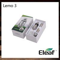 Wholesale eleaf lemo atomizer for sale - Group buy Ismoka Eleaf Lemo Atomizer ML Lemo RTA Tank Top Filling Smooth Airflow Original VS Eagle Tank Tsunami RDA Glass Window