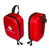 Wholesale First Led - hot Outdoors Emergency Medical Bag Home Camping First Aids Kits Bag Rescue free shipping