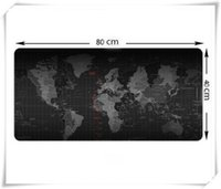 Wholesale Large Size MM World Map Speed Game Mouse Pad Mat Laptop Gaming Mousepad