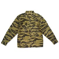 NON STOCK Jungle Camouflage Giacche Uomo Streetwear Military Army Style Mens Autunno Giacca Cappotto Chaquetas Hombre 2017
